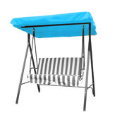 Outdoor 3 Seater Garden Swing Chair Replacement Canopy Spare Fabric Sun Dust Waterproof Cover