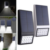 3.7V 1W Solar Powered 15 LED Lâmpada de parede Night Light impermeável para Garden Patio Path
