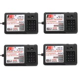 4PC Flysky 2.4G 3CH FS-GR3E Receiver for FS GT2/GT2B/GT2F/GT3B/GT3C/T6/CT6B/TH9A/TH9X Transmitter