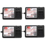 4PC Flysky 2.4G 3CH FS-GR3E Empfänger für FS GT2 / GT2B / GT2F / GT3B / GT3C / T6 / CT6B / TH9A / TH9X Sender