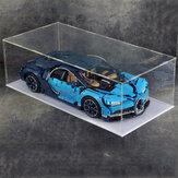 DIY الاكريليك عرض الحال بالنسبة LEGO 42056 42096 42083911 RSR تكنيك بوجاتي تشيرون
