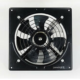 220V 50W Industrial Ventilation Extractor Metal Axial Exhaust Air Blower Fan220V 50W