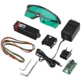Moduł laserowy NEJE 20W Zestaw do samodzielnego montażu 450nm Profesjonalny ciągły moduł do grawerowania laserowego o mocy 5,5 W Niebieskie światło z modulacją TTL / PWM do cięcia laserowego / grawerowania Maszyna CNC DIY Laser kompatybilny z Ard