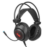 K16 Gaming Headset Surround-Soundeffektsystem Exquisites 7-Farben-LED-Licht Omnidirektionales Rauschunterdrückungsmikrofon