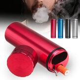 Multi-function Herb Smoke Grinder Dug Tube Storage Room Case Pipe