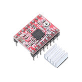 2pcs A4988 Driver Module Stepper Motor Driver Board with Heatsink
