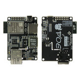 LILYGO® TTGO T-Internet-POE ESP32-WROOM LAN8720A Chip Ethernet Adapter and Downloader Expansion Board Matériel Programmable