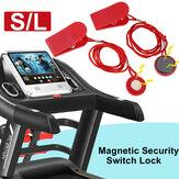 Cinta de correr universal Máquina de correr Llave de seguridad Interruptor magnético de seguridad cerradura