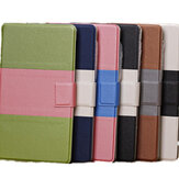 Contrast Color PU Leather Case With Card Holder For Google Nexus 7 2nd