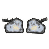 2PCS LED Pathway Light Under Side Mirror Lamp For Mercedes Benz W204 W212 W176