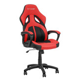 BlitzWolf® BW-GC3 Racing Style Gaming Chair PU + Mesh Material Red Color Streamlined Design Adjustable Height Widened Seat Home Office