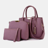 Women 3pcs Fashion Elegant Shoulder Bag Handbag