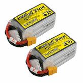2db TATTU R-Line 4.0 verzió V4 22,2V 1400mAh 130C 6S LiPo akkumulátor XT60 dugó RC drónhoz