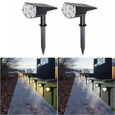20LED Solar Spotlight Garden Lawn Lamp Landscape Street Light Park Yard Pathway