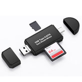 Bakeey 3 in 1 Multifunction Card Reader 480Mbps High Speed Type-c USB 2.0 Micro Usb Tf Memory Card OTG Card Reader