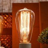 ST58 E27 40Wレトロエジソン電球AC 220V白熱電球