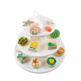 3 Tier Matrimonio Compleanno Party Cake Cupcake Stand Dessert Display Lollipop Holder Cake Decorations