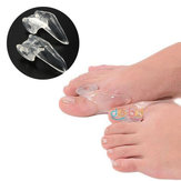 Soft Silicone Gel Toe Separators Straightener Bunion Protector