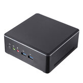 T-Bao TBOOK MN22 Mini PC AMD Ryzen 3 2200U 8GB DDR4 128GB M.2 NVME SSD Desktop PC Dual Core Radeon Vega 3 Graphics 2.5GHz to 3.4GHz DP HD 4K Dual WiFi