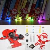 3pcs Geekcreit® DIY Santa Claus Christmas Tree Decoration Pendant Music Kit