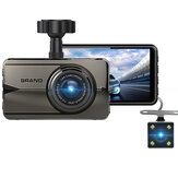 3.0 Inch Car Dash Cam HD Dual Lens 170 degree Car DVR Video Camera Recorder Rear View Mirror Monitor