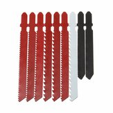 10pcs Jigsaw Blade Set para Bosch T Shank Jigsaw Metal Plastic Wood Blades