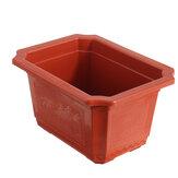 10pcs / set pot de fleurs en plastique pépinière pots de fleurs plante de jardin contenant succulent