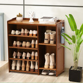 Multi-layer Shoes Rack Shoes Storage Shelf Space Saving Organizer Books Decorations Stand for Home Office