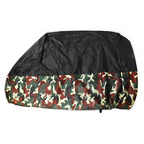 190T Camouflage Motorcycle Waterproof Cover Zwart Universal Bike Outdoor Scooter Cruiser Sunproof Protective