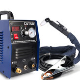 CT50 220V 50A Plasma Cutter Plasma Cutting Machine med PT31 Cutting Torch Welding Accessories