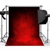 5x7ft Retro Dark Red Tema Fotografia Vinyl Backdrop Studio Fundo 2.1mx 1.5m