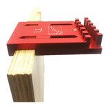 Marcações de madeira Medidor de profundidade Linha de régua Marcador de serra de fita