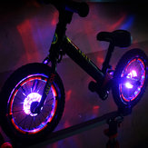XANES® WL09 Bicycle Wheel ضوء USB شحن Night Cycling Lamp ضد للماء Bike ضوء