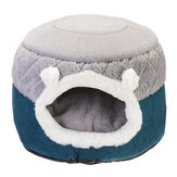 Hoopet Dual-purpose Pet Bed Quilted Warm Cushion Comfortable for Winter