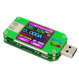 RUIDENG UM24 / UM24C USB 2.0 Couleur LCD Affichage Testeur Courant Tension Courant