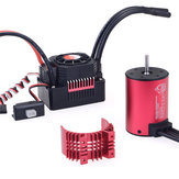 Surpass Hobby 3650 3600KV RC Car Motor + 45a ضد للماء ESC 2-3S for 1/10 طرازات RC الانجراف