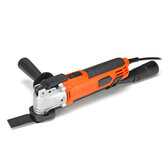 300W 6-speed Variable Multi-function Trimming Oscillating Tools Electric Sanding Woodworking Cutting Machine 220V