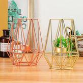 Bougeoir géométrique métal fer bougeoir mariage décorations pour la maison de style nordique