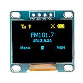 5 stuks 0,96 inch blauw geel IIC I2C OLED displaymodule Geekcreit voor Arduino - producten die werken met officiële Arduino-boards