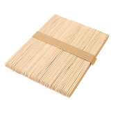 50Pcs A Bundle of Ice Cream Sticks 140 * 10 * 2 mm Ecru Popsicle Sticks