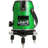 UNI-T LM550G 5 Lines Green Laser Level 360 Degree Self-leveling Cross Laser Level Strengthen Brightness Touch Button
