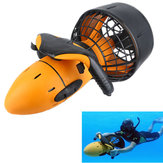 Waterdichte elektrische 300W onderwaterzee-scooter Dual Speed ​​Propeller Drving Pool Submarine Toy