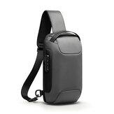 マークライデンMR7116盗難防止チェストバッグクロスボディバッグビジネスバッグUSB充電男性ハンドバッグ旅行収納バッグ