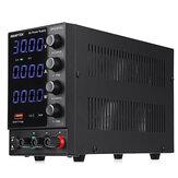 Wanptek DPS3010U 110V / 220V 4 Haneli Ayarlanabilir DC Güç Kaynağı 0-30V 0-10A 300W USB Hızlı Şarj Laboratuvarı Anahtarlamalı Güç Kaynağı