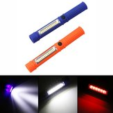 5W Portable Mini LED COB Inspection Work Pen Light Bateria Powered Ímã Camping Flashlight Torch