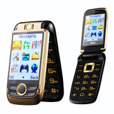 BLT V998 2,6 '' 2000 mAh Dual Touch Screen Dual SIM Flip Feature Phone