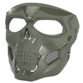 Halloween Skull Tactical Airsoft Mask Paintball CS Militaire beschermende integraalhelm