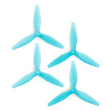 2 Pairs HQProp DP5X4.5X3V3 Durable 5045 5x4.5 5 Inch 3-Blade Propeller for RC Drone FPV Racing