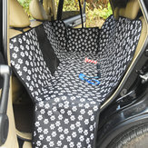 Cat Caw Rear Row Two-seater Car Pet Mat With Net Car Waterproof Dog Pad