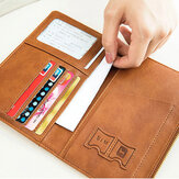 Women 2 SIM Card Slots 4 ID Holder Ultra-thin RFID Passport Wallet